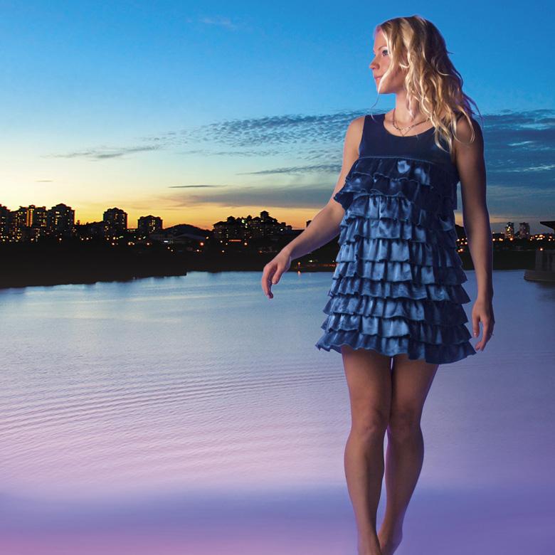 solveiga mikelsone, foto, zilais sapnis, modele, skaistums, glamūrs, ticība, cerība
