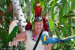 solveiga mikelsone foto, ceļojumi, papagaiļi, putni