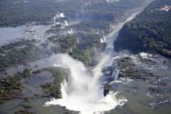 solveiga mikelsone, Iguasua, udenskritums, falls, brazil, Brazīlija