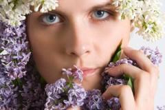solveiga mikelsone, foto, skaistums, portreti, modeļi, glamūrs, ceriņi, skatiens, acis, pavasaris